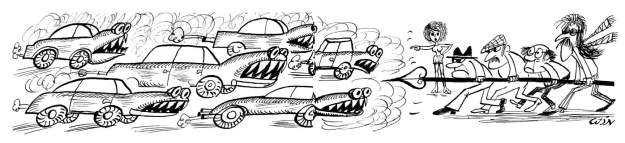 Autolawinekampf